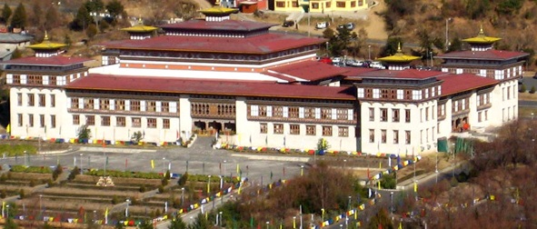 National Assembly Building in Thimphu